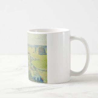 Camille Pissarro - The Harvesting of Hay, Eragny Coffee Mug