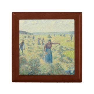 Camille Pissarro - The Harvesting of Hay, Eragny Gift Box