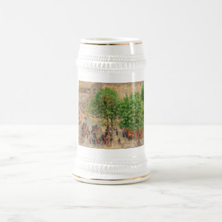 Camille Pissarro Theatre French Place 1898 Spring Beer Stein