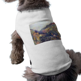 Camille Pissarro - Tuesday on the Boulevard Montma Doggie T Shirt
