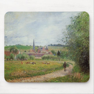 Camille Pissarro- View of Eragny Mouse Pad