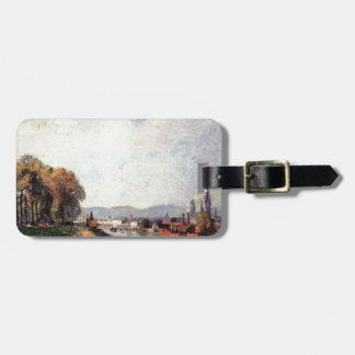 Camille Pissarro- View of Rouen Luggage Tag