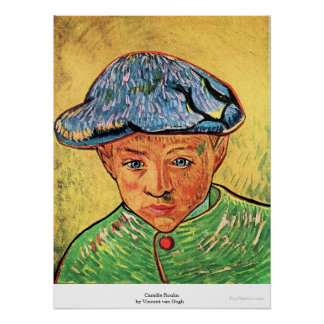 Camille Roulin by Vincent van Gogh Poster
