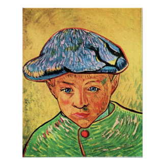 Camille Roulin by Vincent van Gogh Print