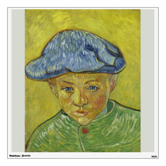 Camille Roulin by Vincent Van Gogh Room Stickers