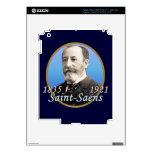 Camille Saint-Saens iPad 3 Decals