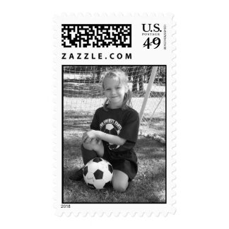 Camille Soccer Stamp