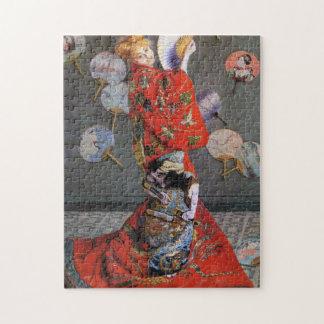 Camilo en la bella arte japonesa de Monet del Puzzles Con Fotos