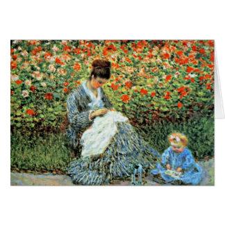 Camilo Monet y el día de madre del niño Tarjeta De Felicitación