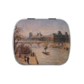 Camilo Pissarro- el Louvre 2 Jarrones De Dulces