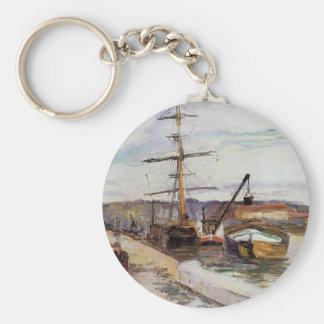 Camilo Pissarro- el puerto de Ruán Llaveros