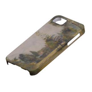 Camilo Pissarro- Kew cultiva un huerto 2 iPhone 5 Case-Mate Protector