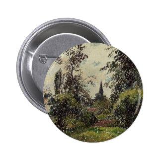 Camilo Pissarro- la aguja de Bazincourt (estudio) Pin