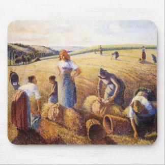 Camilo Pissarro- los Gleaners Alfombrilla De Raton