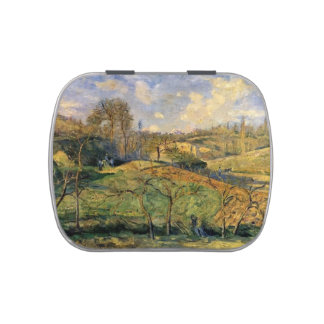 Camilo Pissarro- marzo Sun, Pontoise Frascos De Caramelos
