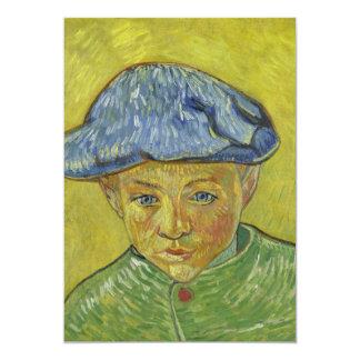 Camilo Roulin de Vincent van Gogh Invitación Personalizada