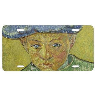 Camilo Roulin de Vincent van Gogh Placa De Matrícula