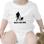 camina el zombi del perro traje de bebé
