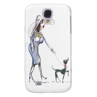 Caminando el caso del iPhone 3G del perro