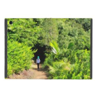 Caminando una trayectoria sola iPad mini funda