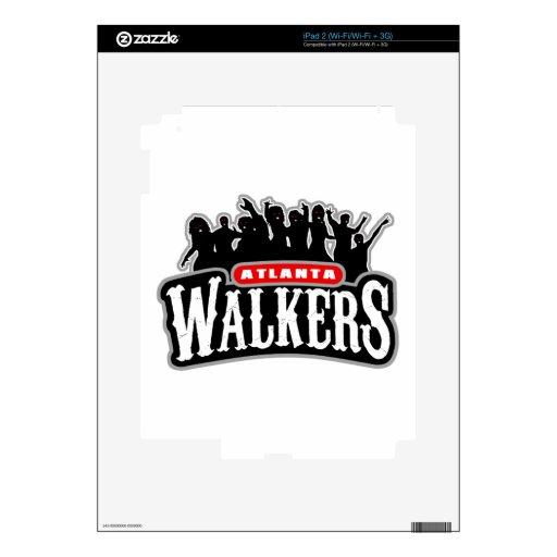 Caminante de Atlanta Calcomanías Para iPad 2