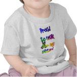 Caminante de la conciencia del autismo camisetas