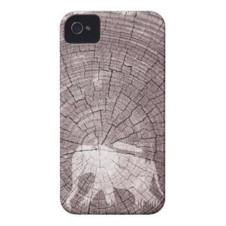 Caminante de la selva de madera iPhone 4 cobertura