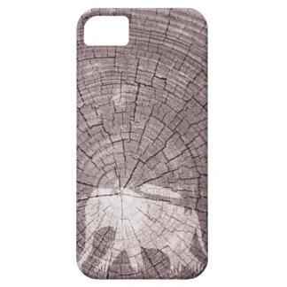 Caminante de la selva de madera iPhone 5 carcasas