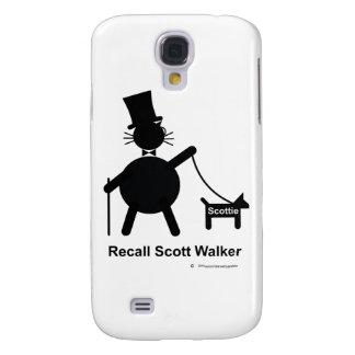 Caminante de Scott de memoria Funda Para Galaxy S4