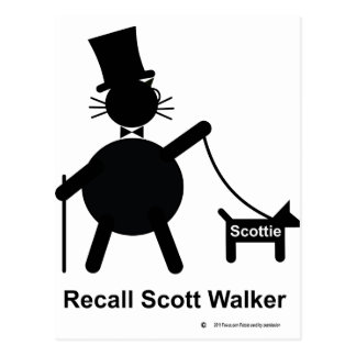 Caminante de Scott de memoria Postal