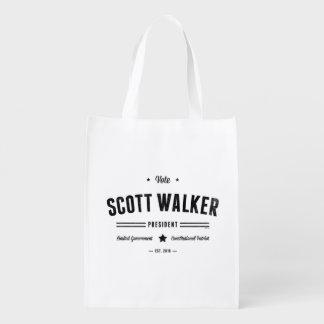 Caminante de Scott del voto Bolsa Reutilizable