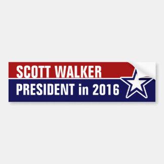 Caminante de Scott en 2016 Pegatina Para Auto