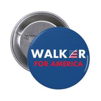 Caminante de Scott para América Pin Redondo De 2 Pulgadas