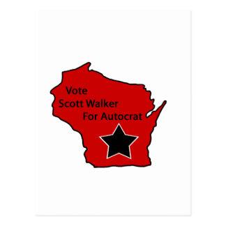 Caminante de Scott para el autócrata Postal