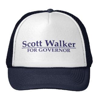 Caminante de Scott para el gobernador Gorras De Camionero
