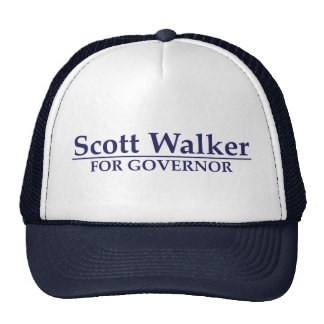 Caminante de Scott para el gobernador Gorras