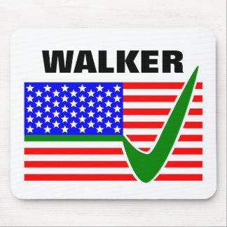 Caminante de Scott para la bandera del presidente Alfombrillas De Ratones