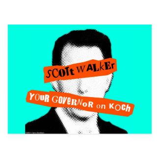 Caminante de Scott su gobernador en Koch Postales