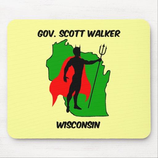Caminante del gobierno Scott Mouse Pad