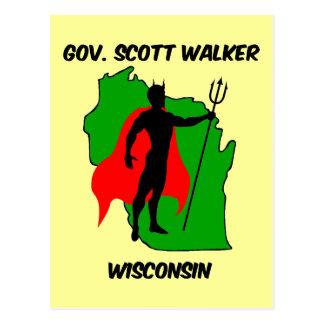 Caminante del gobierno Scott Postal