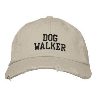 Caminante del perro gorra de beisbol bordada