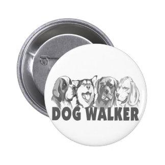 Caminante del perro pins