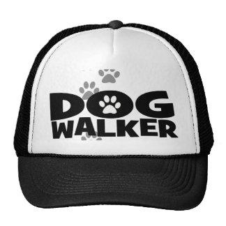 Caminante del perro promocional gorras de camionero
