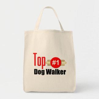 Caminante del perro superior bolsa lienzo