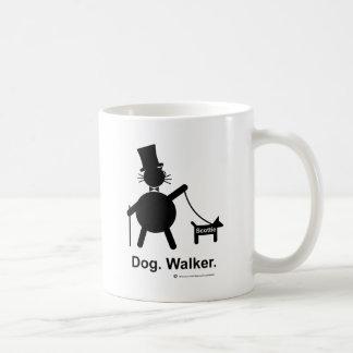 Caminante del perro taza