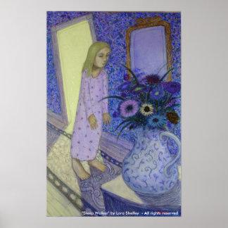 Caminante del sueño - por Lora Shelley Poster