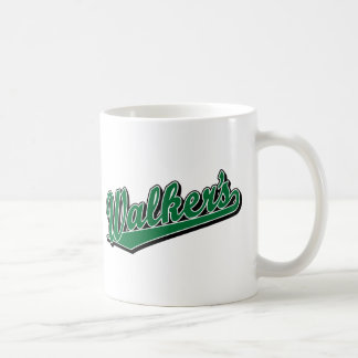 Caminante en verde taza
