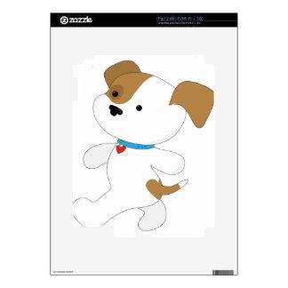 Caminante lindo del perrito skin para el iPad 2