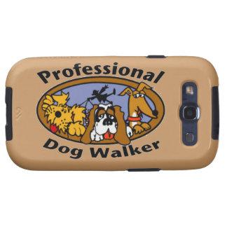 Caminante profesional del perro samsung galaxy s3 funda
