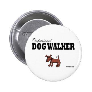 Caminante profesional del perro pins